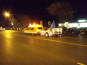Delta, Utah - Christmas Parade in Delta (2007)