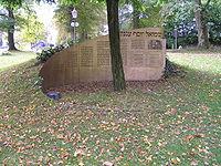 Denkmal Samuel Agnon Bad Homburg