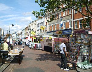 Deptford Market - Market from the south