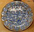 Deruta, piatto con calvario e scene della passione, 1510 ca.jpg