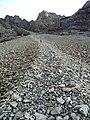 Descending the Great Stone Chute - geograph.org.uk - 1570499.jpg