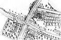 Detail - A. Royet, Carte figurative de la chaussée à construire sur la digue longeant les étangs d'Etterbeek à partir de la porte de Louvain (AGR, Cartes et plans manuscrits, n° 219).jpg