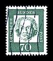 Deutsche Bundespost - Bedeutende Deutsche - Ludwig van Beethoven - 70 Pfennig - schwarzblaugruen.jpg