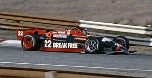 Dick Simon Racing - Dick Simon's March 84C at Laguna Seca in 1984.
