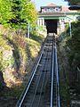 Die Merkur Bergbahn ist eine der steilsten Standseilbahnen Deutschlands. - panoramio.jpg