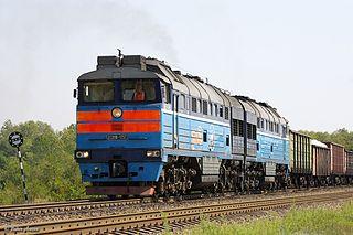 2TE116 class of Soviet diesel-electric locomotives