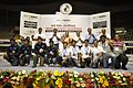 Dignitaries with Prize Winners - Valedictory Session - Indian National Championship - WRO - Kolkata 2016-10-23 9016.JPG