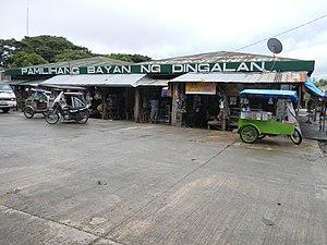 Dingalan - Image: Dingalan Public Market in Aurora province