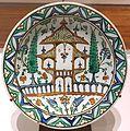 Dish, Turkey, Iznik, late 17th century AD, underglaze-painted fritware - Aga Khan Museum - Toronto, Canada - DSC06817.jpg