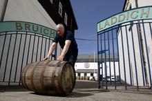 Bruichladdich distillery gates