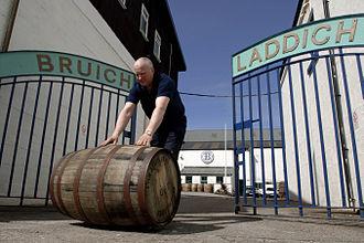 Bruichladdich distillery - Bruichladdich distillery gates