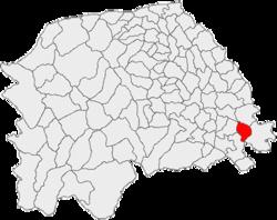 Vị trí của Dolhesti