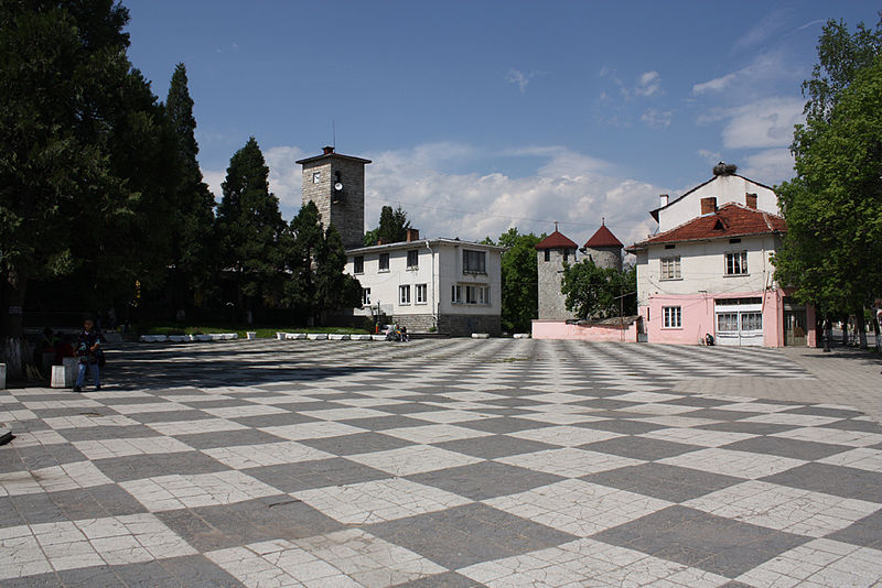 Tập tin:Dolna-Banya-square-and-clock-tower.jpg