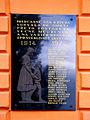 Dolny Kubín Pamatna tabula vojakom 1. svetovej vojny.jpg