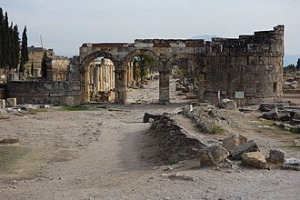 Hierapolis - Domitian gate