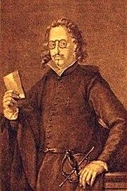A portrait of Francisco de Quevedo y Villegas, 1580–1645