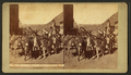 Donkey train, at Georgetown, Colorado, by Weitfle, Charles, 1836-1921.png