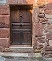 Door at Rue du Porche in Clairvaux-d'Aveyron 05.jpg