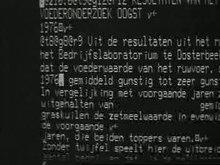 File:Door toename automatisering in krantenbedrijf verdwijnt het oude zettersvak Weeknummer, 77-14 - Open Beelden - 13160.ogv