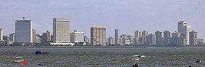 Nariman Point and Cuffe Parade