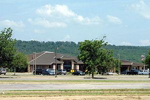 Drake Field - Image: Drake Field terminal