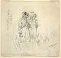Drawing, Two Girls in a Field, 1879 (CH 18175371).jpg