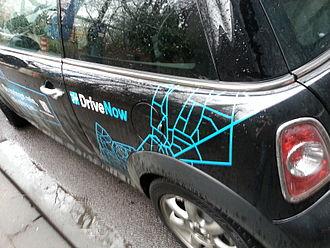 DriveNow - DriveNow Car Sharing Mini Cooper