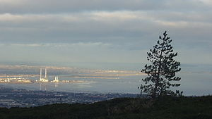 Dublin Bay - Dublin Bay viewed from Three Rock Mountain