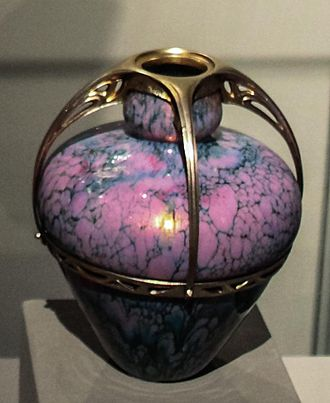 Maurice Dufrêne - Vase, Budapest Museum of Applied Arts