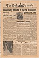 Duke Chronicle 1963-05-03 page 1.jpg