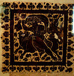 Late antique textile, Egyptian, now in the Dumbarton Oaks collection.