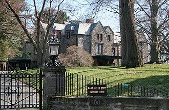 Dupee Estate–Mary Baker Eddy Home - Image: Dupee Estate Mary Baker Eddy Home, Newton, Massachusetts