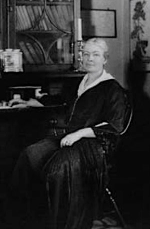 Ellen Biddle Shipman - Shipman at Beekman Place, her NYC home.