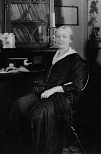 Ellen Biddle Shipman - Shipman at Beekman Place, her NYC home.