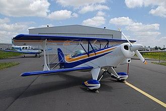 Acro Sport II - Image: EAA Acro Sport II Air Expo Muret 2007 0132 2007 05 12