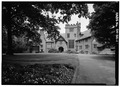 EAST FRONT, FROM EAST - Stan Hywet Hall, 714 North Portage Path, Akron, Summit County, OH HABS OHIO,77-AKRO,5-1.tif