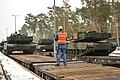 EAS M1A2s arrive in Grafenwoehr (12234857406).jpg