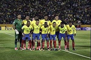 Ecuador en el ultimo partido de las eliminatorias e17c8a92662