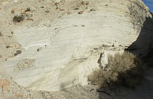 Energetically modified cement - Natural Pozzolan (volcanic ash) deposits situated in Southern California in the United States.