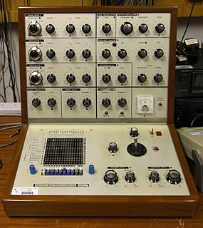 EMS VCS 3 Synthesizer model