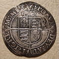 ENGLAND -ELIZABETH I SIXPENCE SECOND COINAGE LARGE SIZE 1561 a - Flickr - woody1778a.jpg