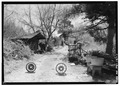 ENTRANCE TO THE WALKER FARM - Walker Family Farm (General views), Gatlinburg, Sevier County, TN HABS TENN,78-GAT,1-1.tif