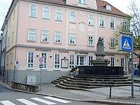 Schwarzer Brunnen in Eisenach als Gedenkstätte