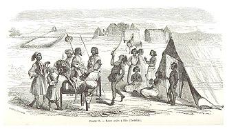 Kordofan - Image: ESCAYRAC(1853) p 322 Planche VI