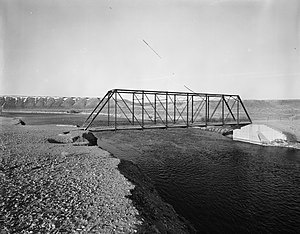 National Register of Historic Places listings in Sweetwater County, Wyoming - Image: ETD Bridge over Green River