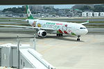 EVA air A330-300 Hello Kitty Loves Apples Aircraft.JPG