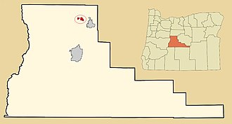 Eagle Crest Resort - Image: Eagle Crest Resort map, Deschutes County, Oregon