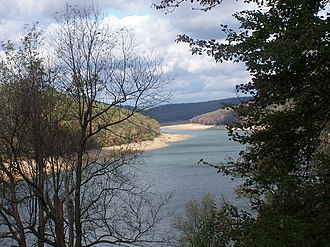 Elk State Park - The East Branch Clarion River Lake at Elk State Park