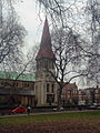 East side of St Johns church East Dulwich in 2005.jpg