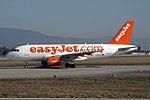 EasyJet Airline Airbus A319-111 G-EZEY (21531384142).jpg